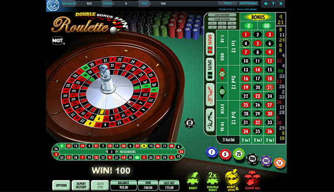 In-game view Roulette at Grosvernor Casino