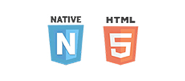 Picture of Native and HTML logos
